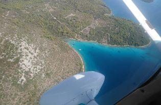 【スプリット発】空から楽しめるザダル地方遊覧飛行ツアー