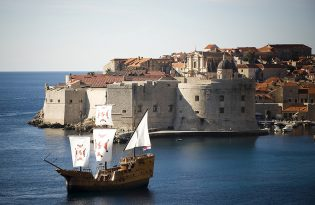[from Dubrovnik] Sunset cruise on a 16th century wooden ship